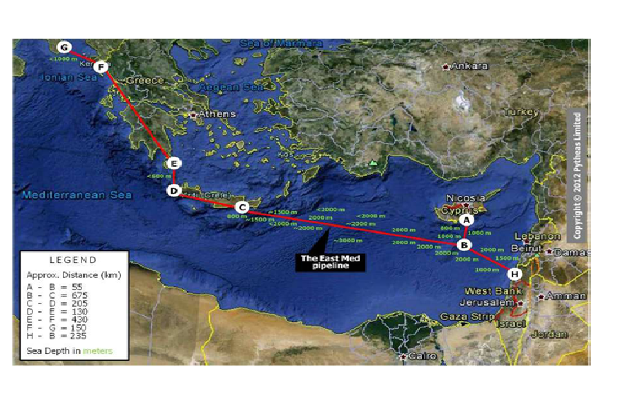 Cypriot cabinet approves EastMed pipeline
