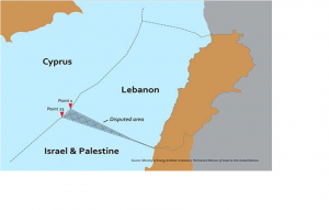 Noble Energy to sell stakes in two Israeli gas fields on the border to Lebanon
