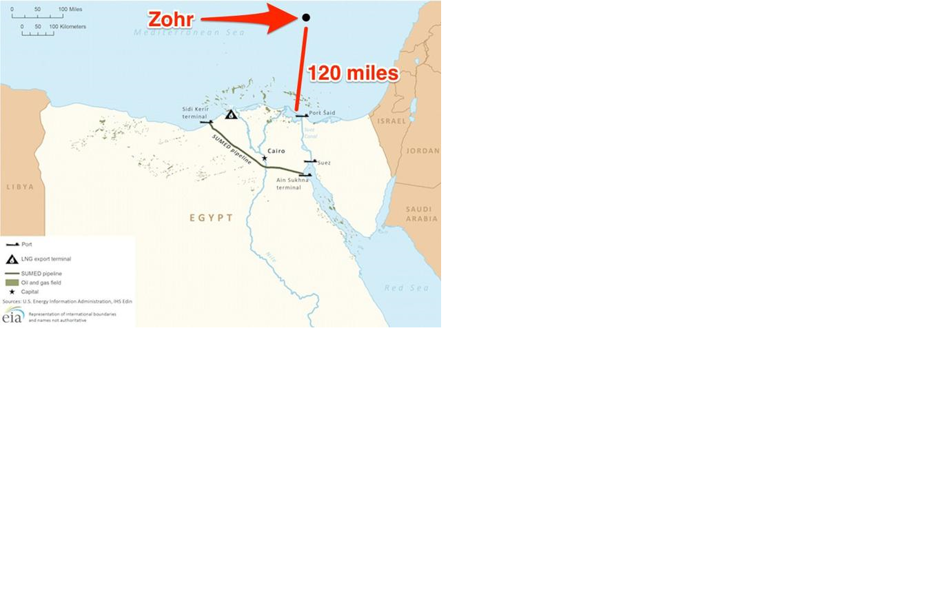 Is The Huge Natural Gas Find In The Zohr Field A Game Changer For Egypt?