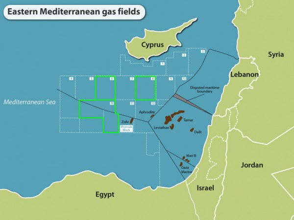 Noble Energy hints at delay in plans for Cyprus Aphrodite gas field