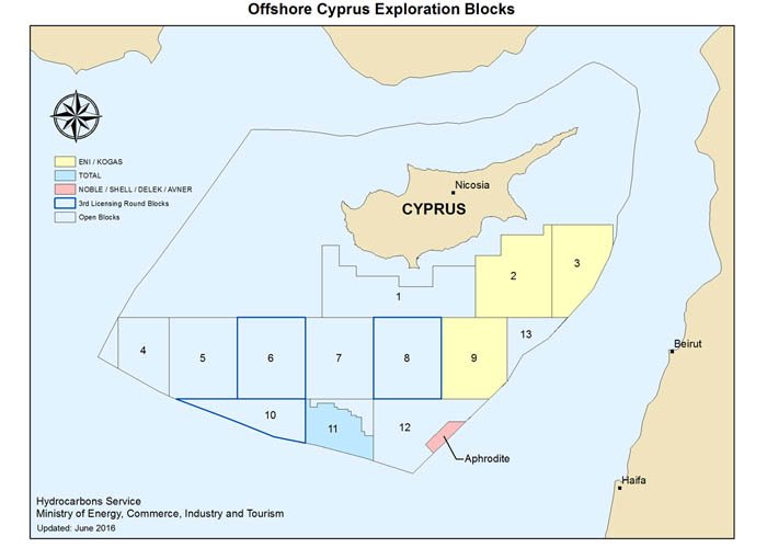 Exploration and exploitation in Cyprus block 7 'an exclusive sovereign right'
