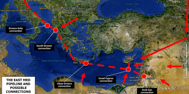 Changing priorities threatens viability of EastMed gas pipeline
