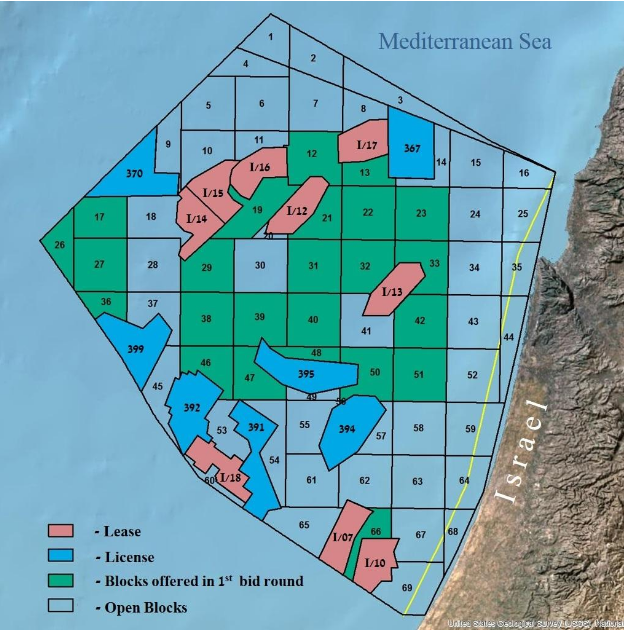 Limited interest in Israel second offshore licensing round