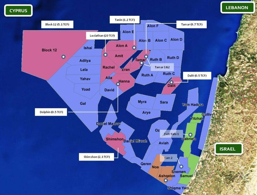 Israel: Energy minister extends offshore license near Lebanese waters