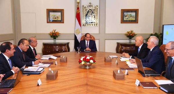 President Sisi meets with Eni's CEO to follow up on Zohr development work