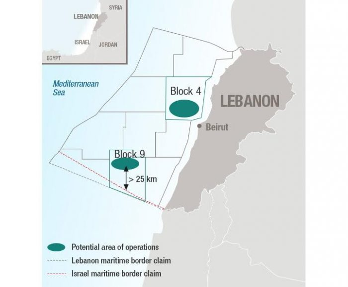 Lebanon offshore drilling to start 'before end of year'