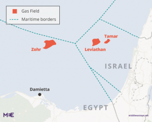 Delek 200 million to export Israeli gas to Egypt via a subsea pipeline.