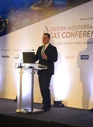 Eni Chief sees rapid development of Eastern Med gas with Zohr