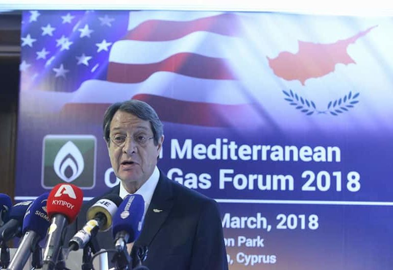 Cyprus President to seek US support for Cyprus' rights within its EEZ