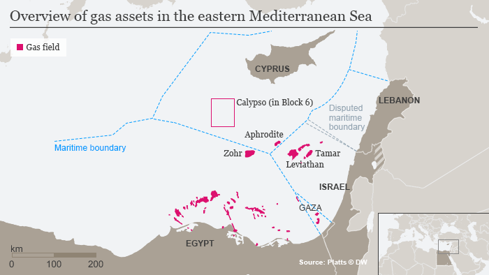 Cyprus and Israel agree framework for settling offshore gas dispute