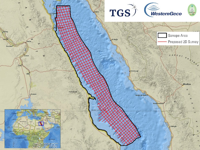 TGS, Schlumberger announce new Red Sea 3D Seismic Multi-Client Reimaging Project