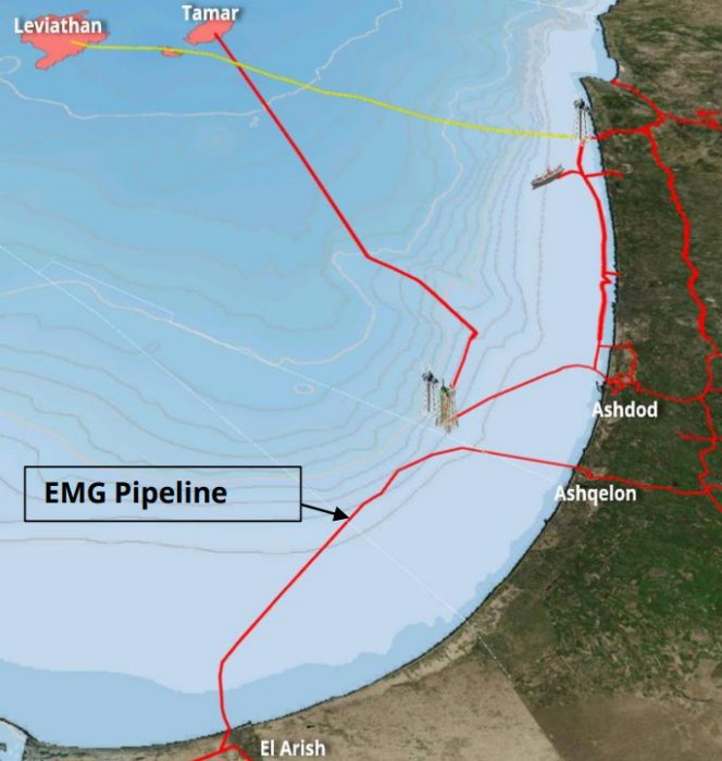 Israel: Conditions met for Leviathan, Tamar gas exports to Egypt