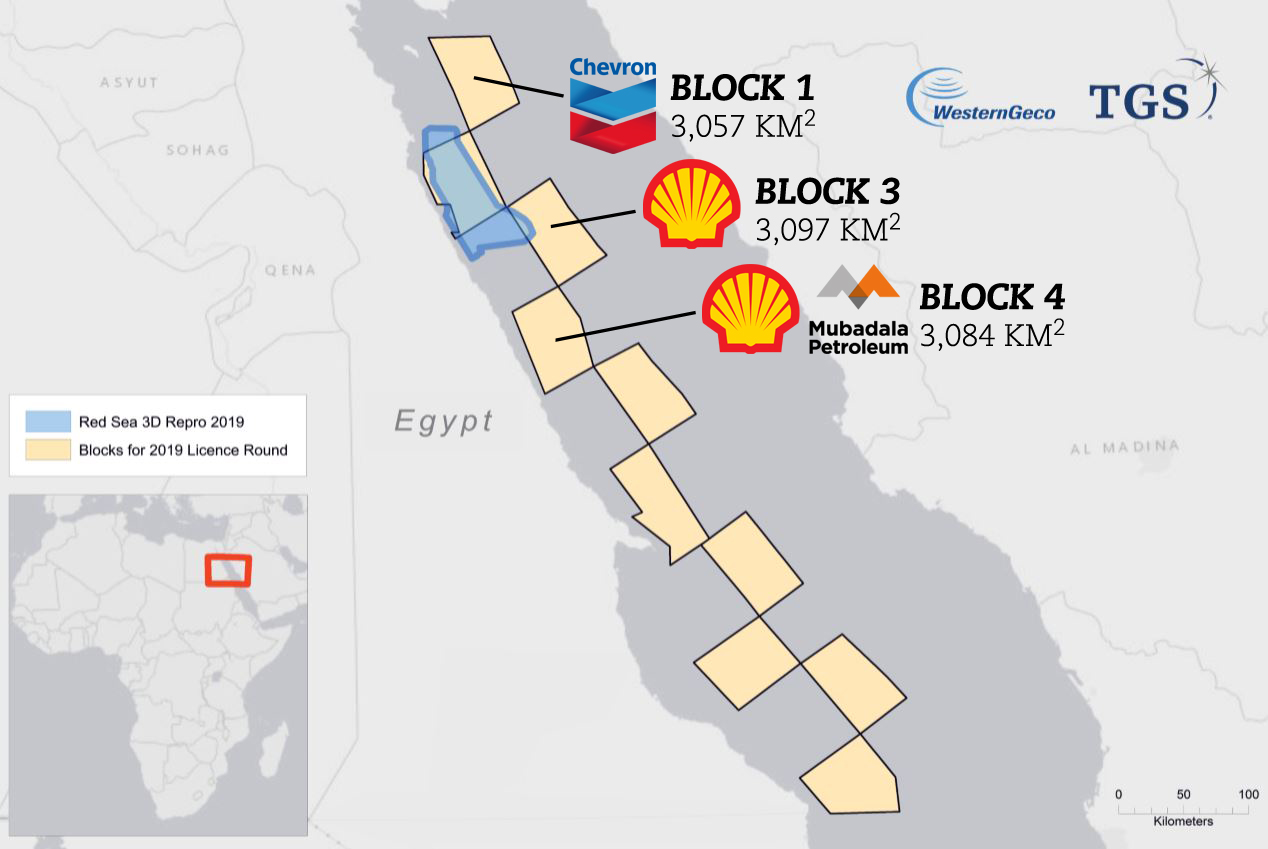 Egypt announces Red Sea Offshore Bid Round result, awards 3 blocks