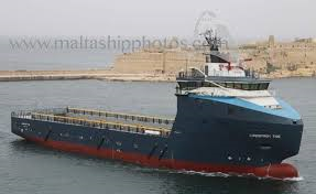 The 2nd Offshore Support Vessel Docks in Beirut Port