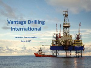 Vantage Drilling 2019 Financial Results
