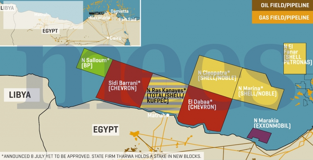 Egypt signs Oil & Gas Exploration Agreements worth $1 billion