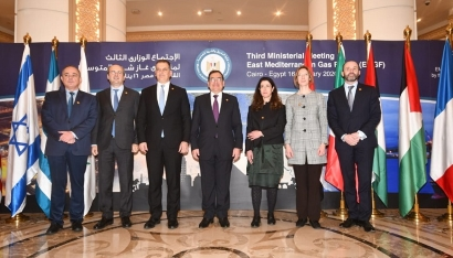 Egypt-based EastMed Gas Forum EMGF charter signed by founding members