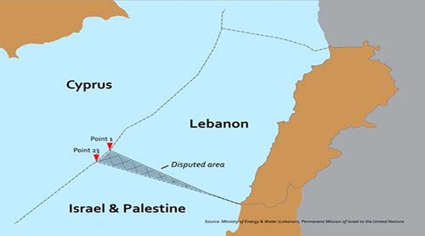 Israel and Lebanon's border dispute could give the UAE a Mediterranean foothold