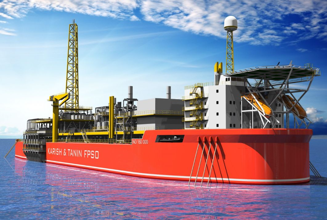 Energean shows off illustration of 'first FPSO ever to operate in Eastern Mediterranean'