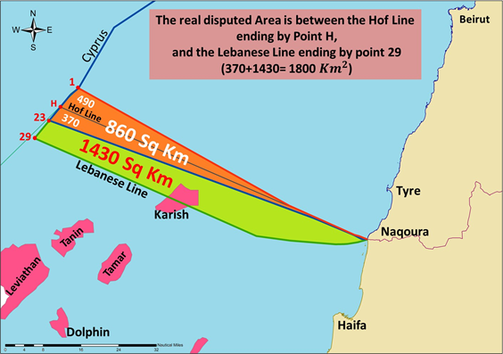 THE MARITIME DELIMITATION BETWEEN LEBANON AND ISRAEL